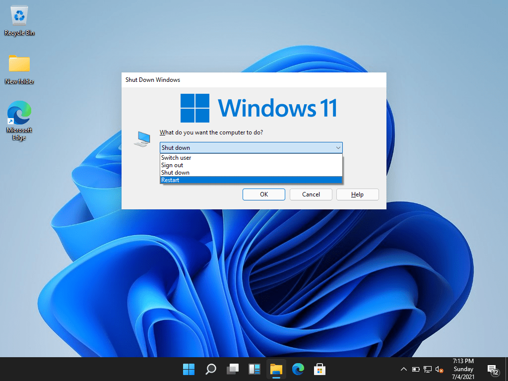 How to Reboot or Restart a Windows 11 PC?