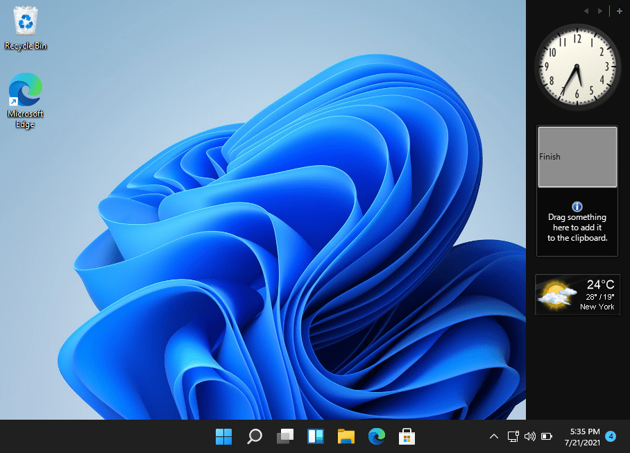 8GadgetPack: Adds more than 60 gadgets in Windows 11/ 10 / 8.1 / 7