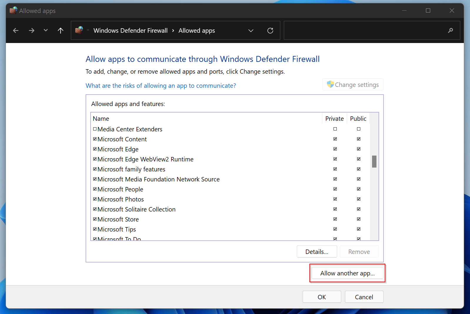 How to Disable Firewall on Windows 11?