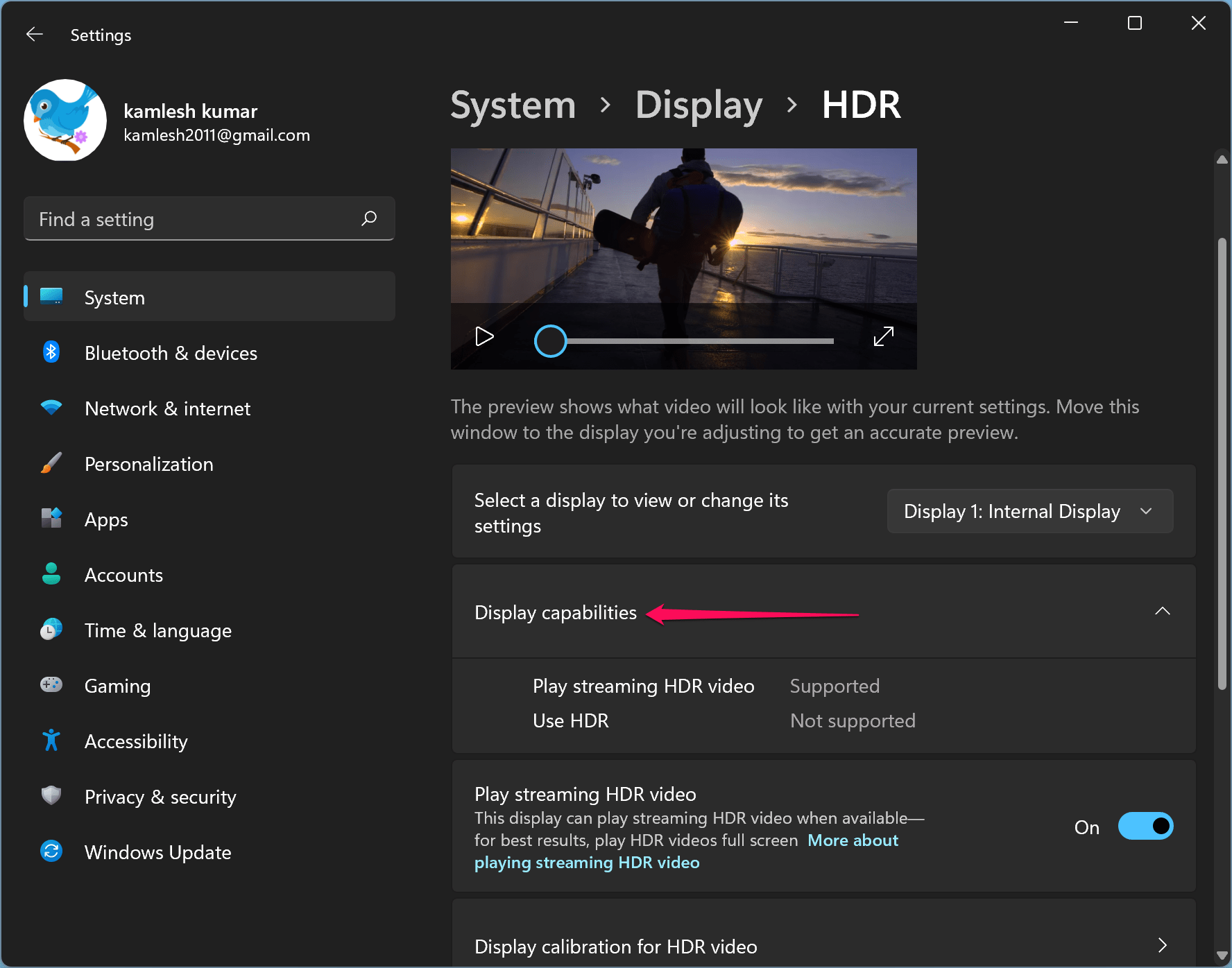 How to Know if HDR is Supported on a Windows 11 PC?