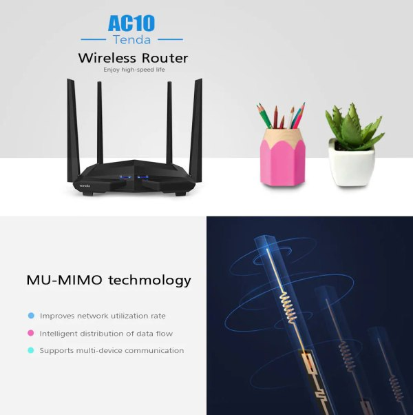 Tenda Wireless Router Manual - Year of Clean Water