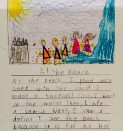 first grade writing samples   Gladys Elizabeth [ 1460 x 1138 Pixel ]