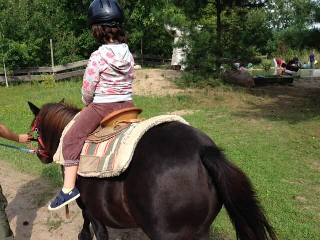 """kleiner Ritt auf dem Pony """"Hans"""""""