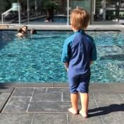 Gemeinsames Schwimmen