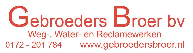 Aannemers en wegenbouwbedrijf Gebroeders Broer Logo