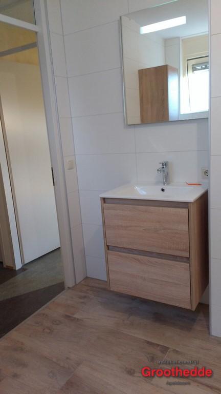 Een nieuwe badkamer voor de Middenhof in Apeldoorn