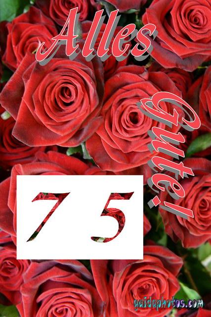 75 Geburtstag kostenlose ecards