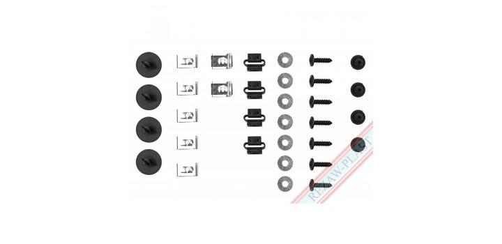 AUDI A4 (8D2,B5) / Крепежни елементи за кора под двигател