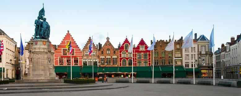 Belçika'nın Kuzeybatı Kıyısında, Rönesans Öncesi Bir Turistik Kent; Brugge