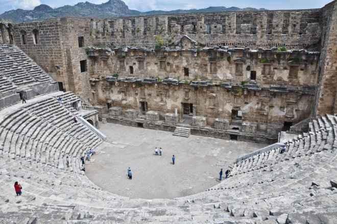 Antalya Aspendos Tarihi Ve Gezilecek Yerleri