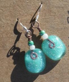 All earrings C4,000
