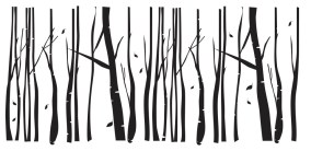 The grove silhouette