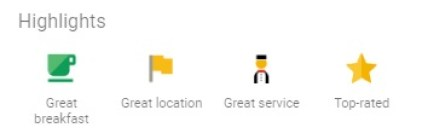 Google Hotel Search:: Highlights
