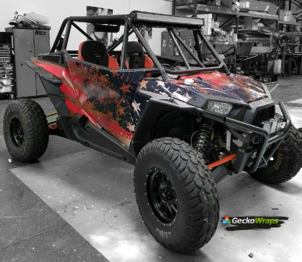 Rzr Flag Wrap - Year of Clean Water
