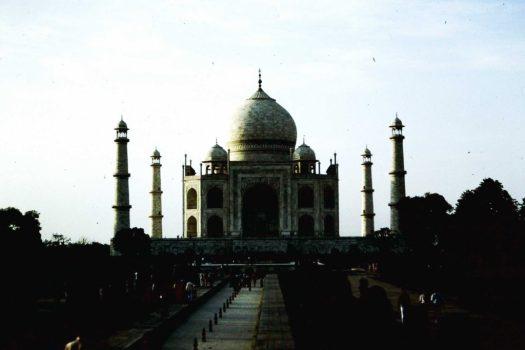 Taj Mahal, Agra, Indien (c)1983 Corinne I. Heitz