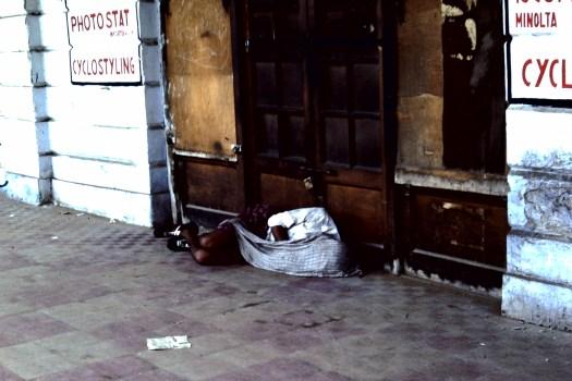 Hitze in Delhi (c)1983 Corinne I. Heitz