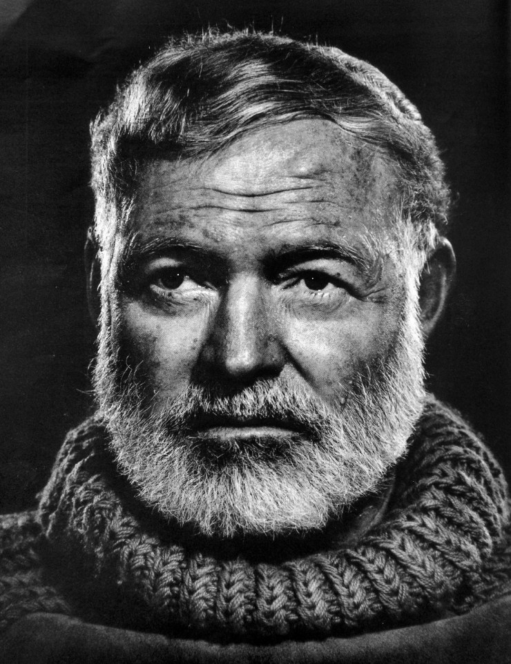 Ernest Hemingway und die Iceberg Theory auswendig wissen - Gedankenpalast