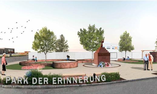 Bild des Konzepts Park der Erinnerung