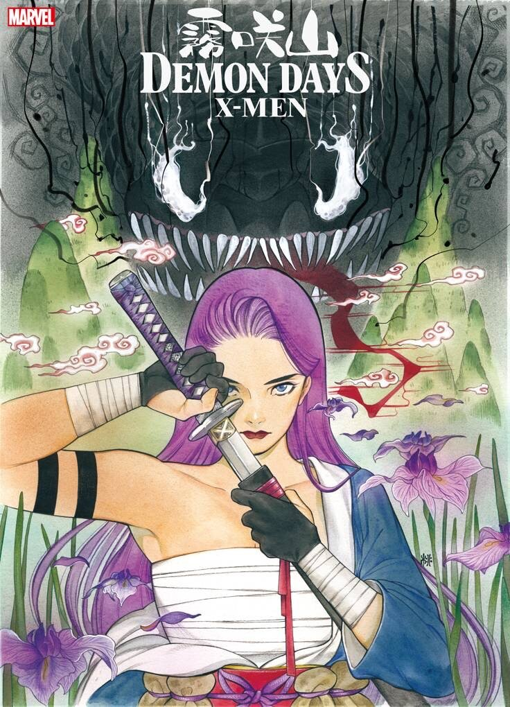 DEMON DAYS: X-MEN #1 (JAN210618) Written by PEACH MOMOKOArt and Cover by PEACH MOMOKO