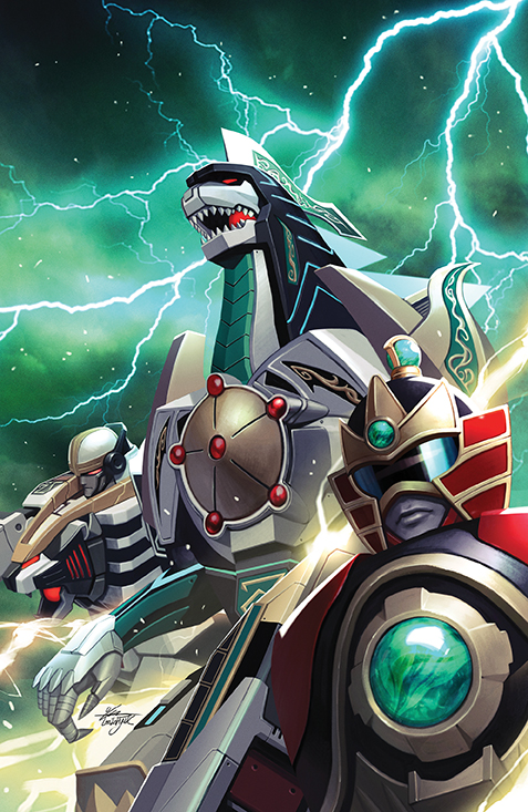 MightyMorphin 005 Cover D Variant