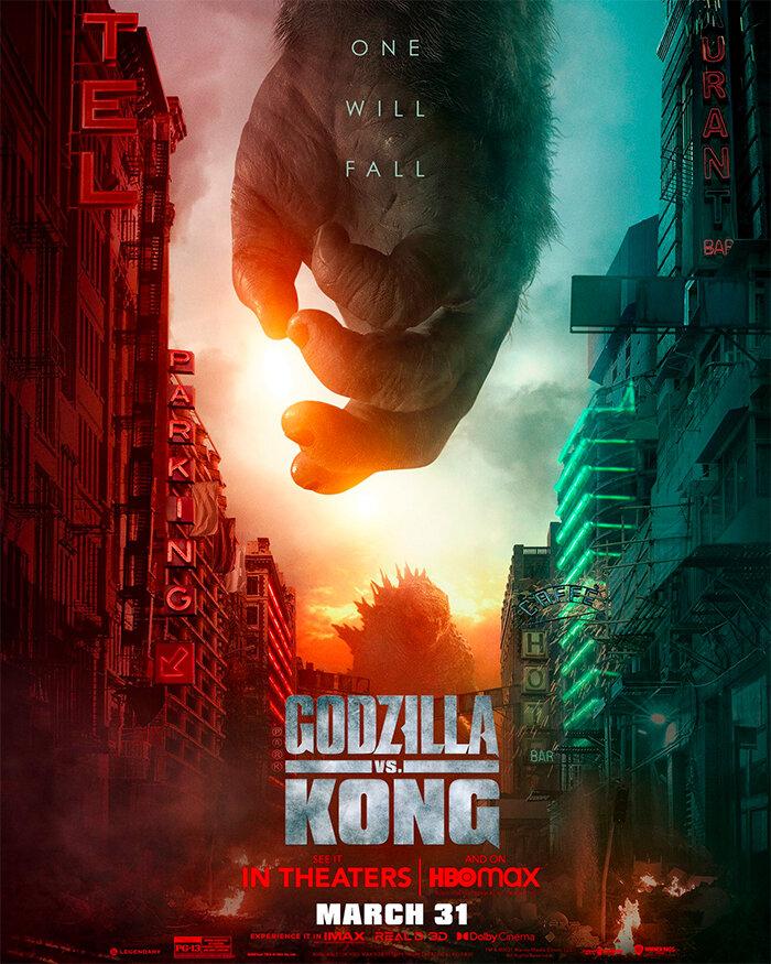godzillavskong konghand poster