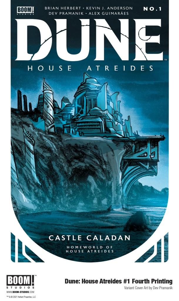 DUNE: HOUSE ATREIDES #1 Fourth Printing