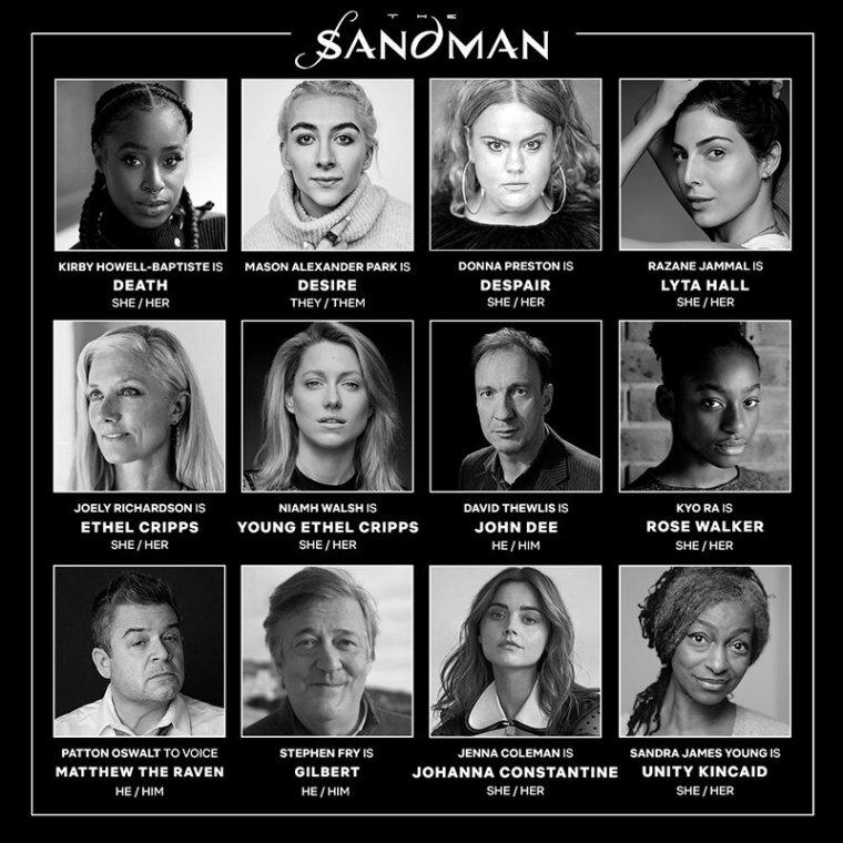 Sandman series cast