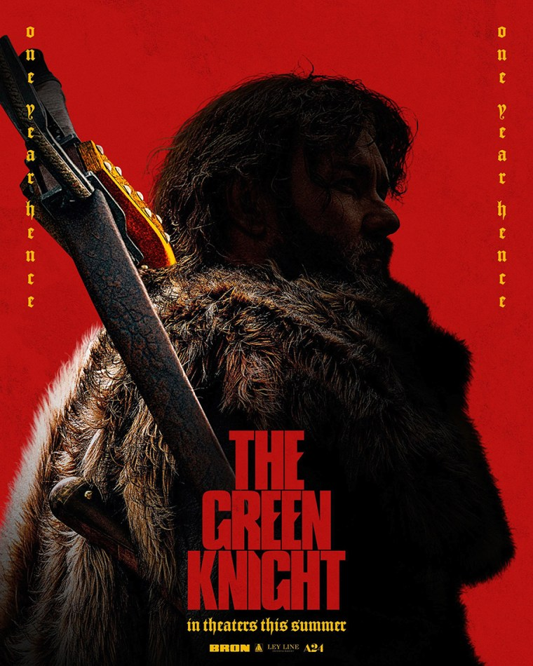 The Green Knight poster 2