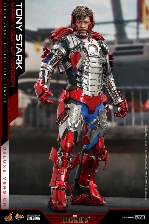 tony stark mark v suit up version