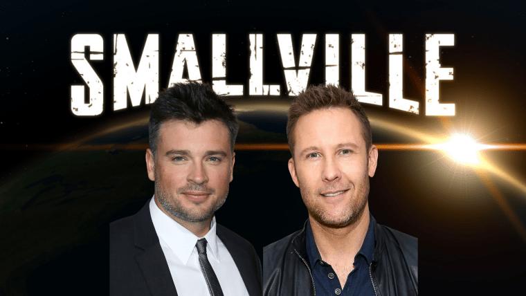 Smallville animated series Tom Welling Michael Rosenbaum