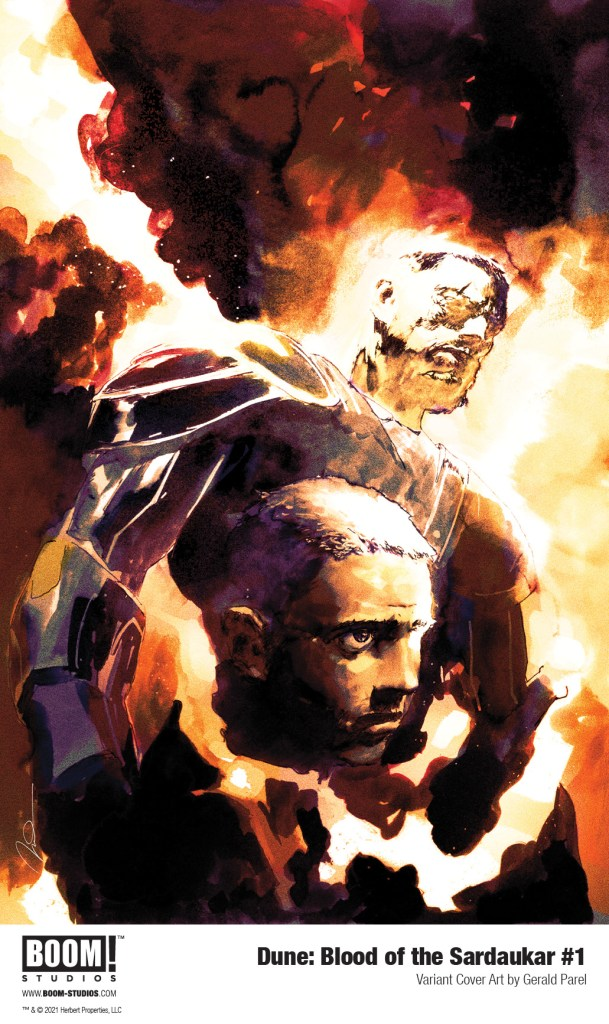 Dune BloodSardaukar 001 Cover Variant Parel PROMO