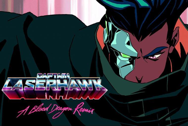 Adi Shankar's Captain Laserhawk: A Blood Dragon Remix