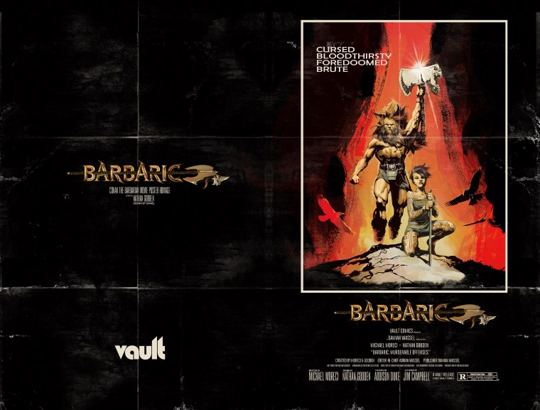 BARBARIC #1 Foil Movie Poster Variant