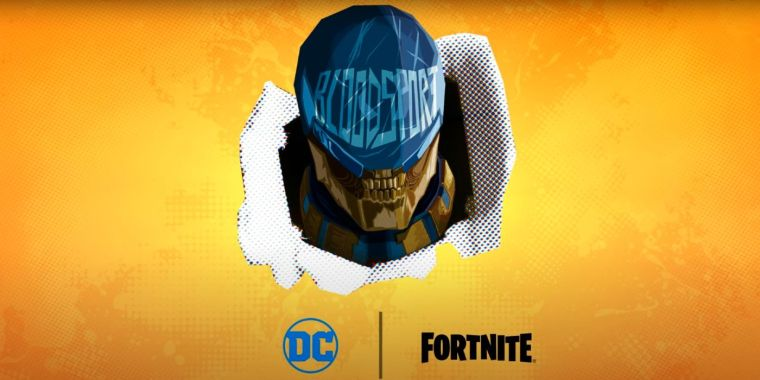 Fortnite Reveals Bloodsport Skin From THE SUICIDE SQUAD