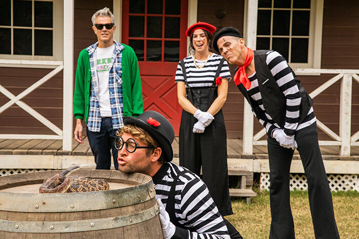 jackass 4 is titled jackass forever and some first look photos have been shared3