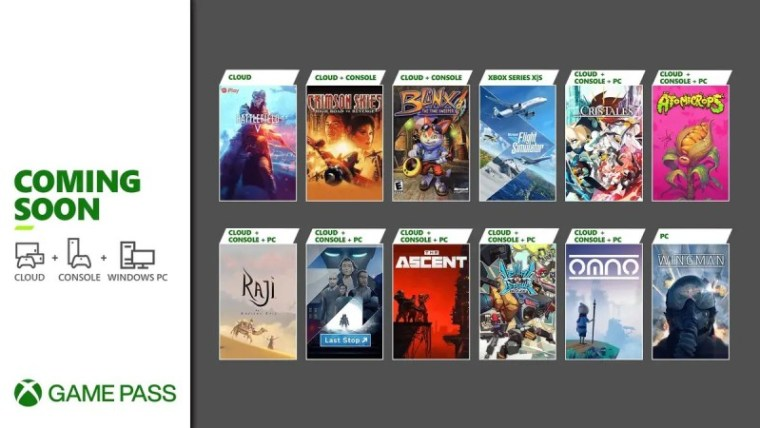 Xbox Game Pass Adding 12 New Games