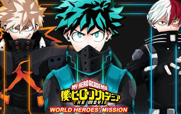MY HERO ACADEMIA WORLD HEROES MISSION Gets An English Release Date