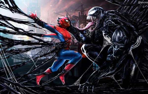 Tom Hardy Discusses Wanting a Venom and Spider-Man Crossover
