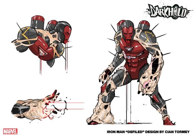 Iron Man Darkhold Design