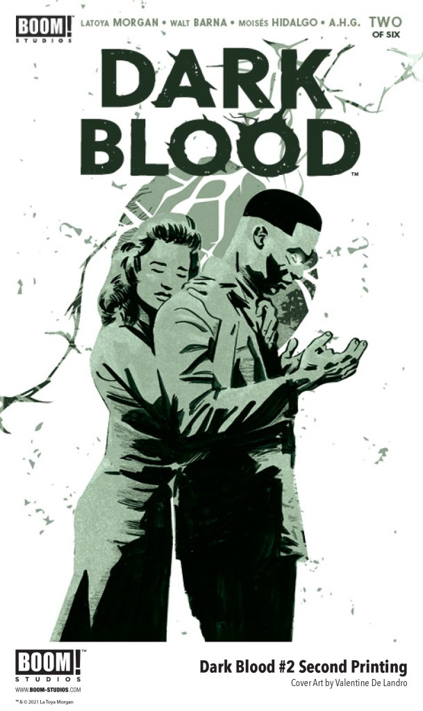 DARK BLOOD #2 Sells Out and Returns for Second Printing