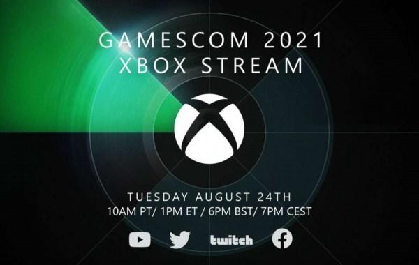 Xbox Gamescom 2021 Event Announced As Livestream Event