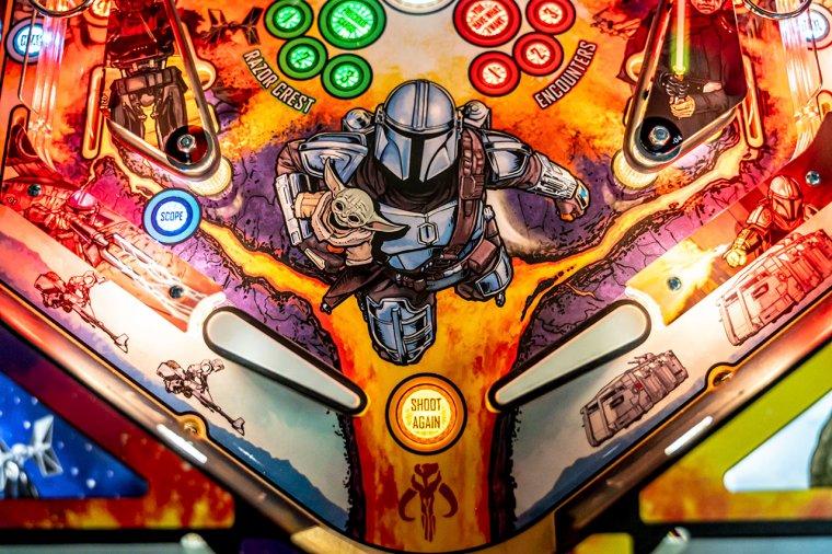 Mandalorian Pinball Machine