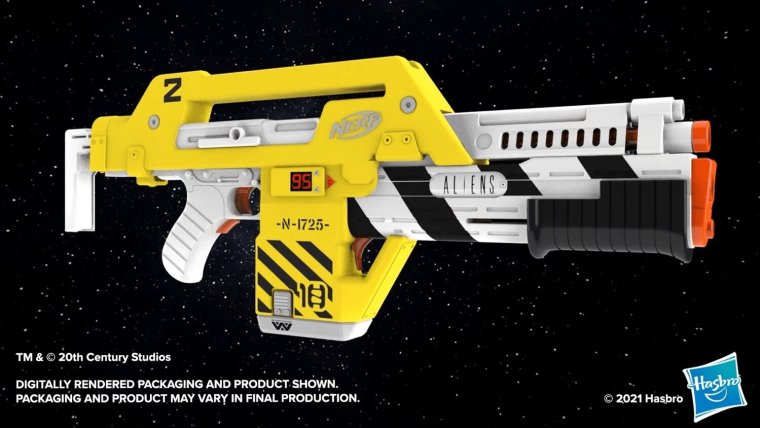 NERF Reveals An ALIENS-Inspired Colonial Marines Pulse Rifle