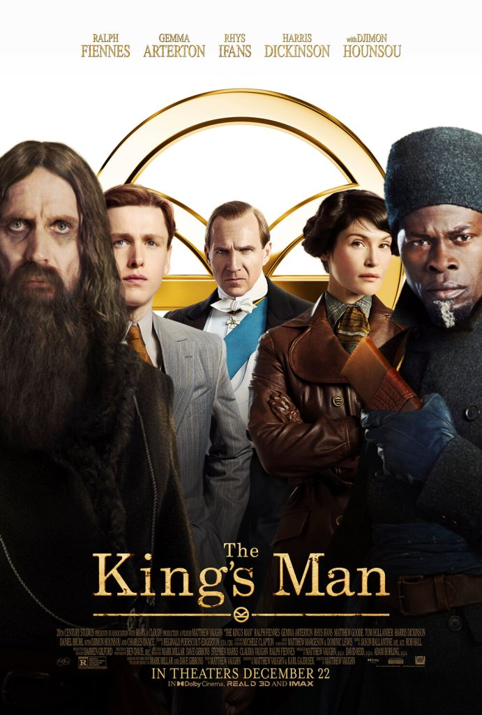 witness the birth of the kingsman in wild new red band trailer for the kings manposter