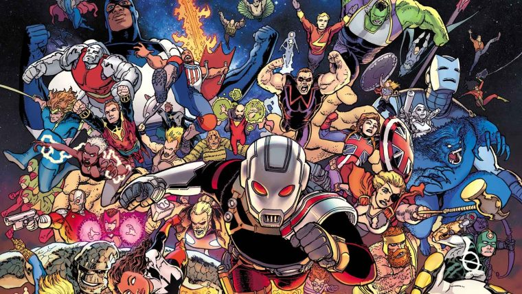 AVENGERS FROM ACROSS THE MULTIVERSE ASSEMBLE IN JASON AARON AND AARON KUDER'S AVENGERS FOREVER