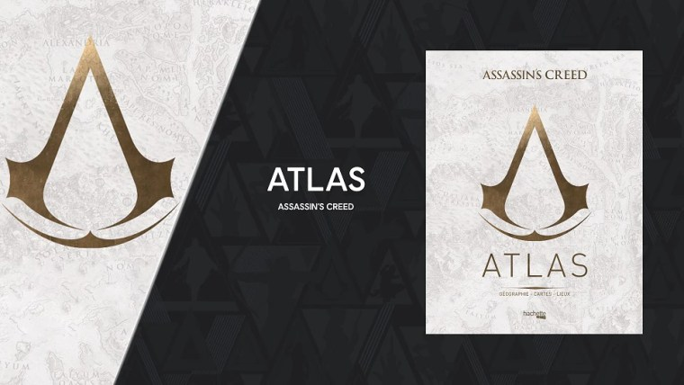 Journey Through The Assassins Creed Universe With The ASSASSINS CREED ATLAS