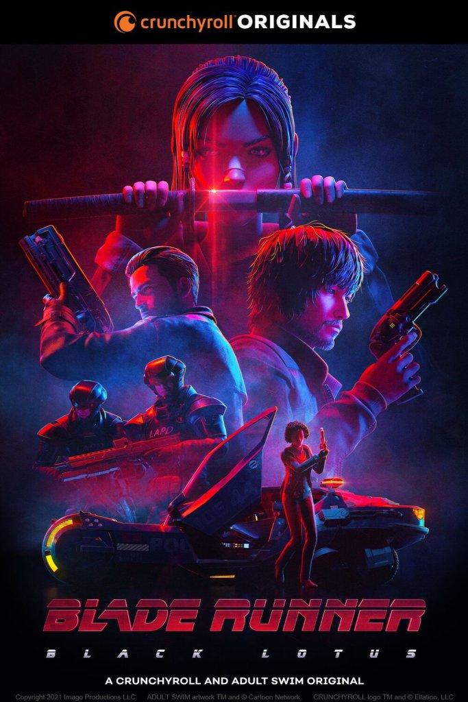 Crunchyroll Unveils Their 2021 Fall Line-Up, Blade Runner: Black Lotus