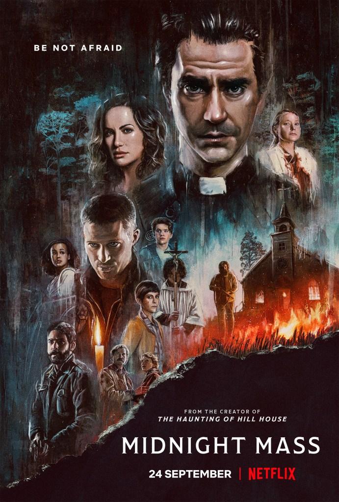 MIDNIGHT MASS REVIEW, Neftlix Midnight Mass Poster