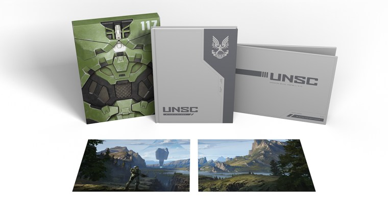 The Iconic Master Chief Armor Is Recreated For The Deluxe Edition Of THE ART OF HALO INFINITE