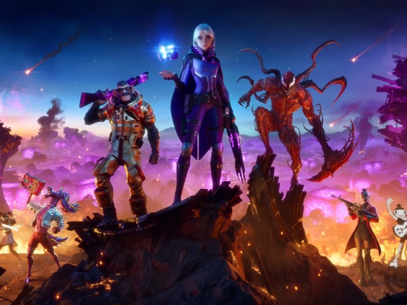 Carnage Drops Into The New Season of FORTNITE